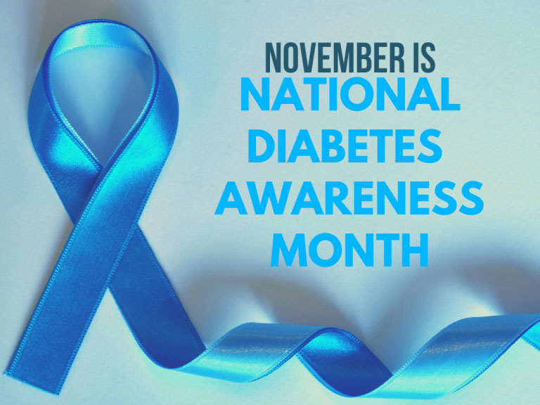 November is National Diabetes Awareness Month!