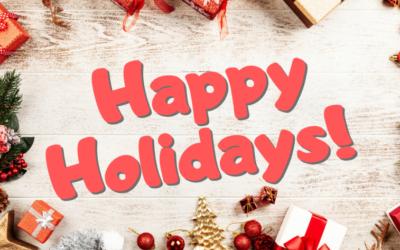 December is Holiday Season!