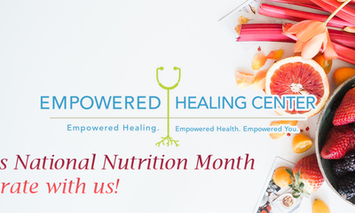 Happy Nutrition Month!
