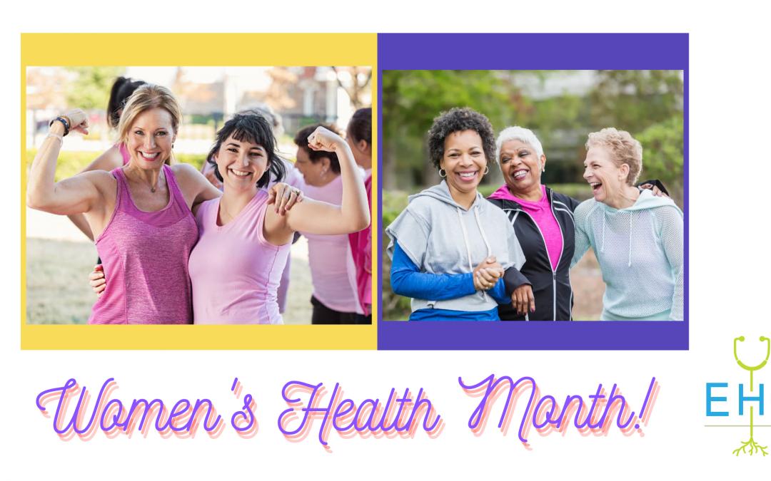 Mental Health Month & Women's Health Month